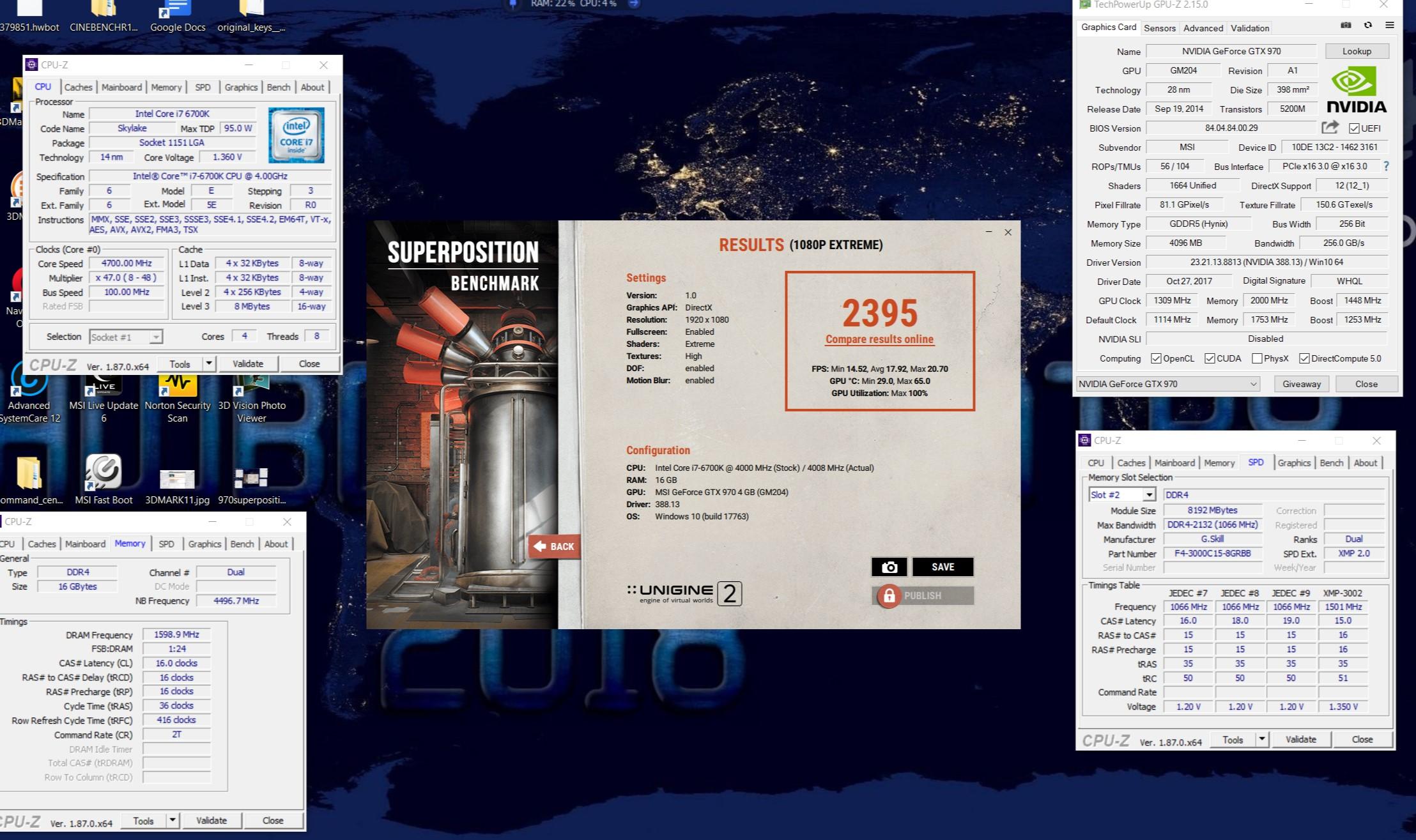 andapinchao`s Unigine Superposition - 1080P Xtreme score