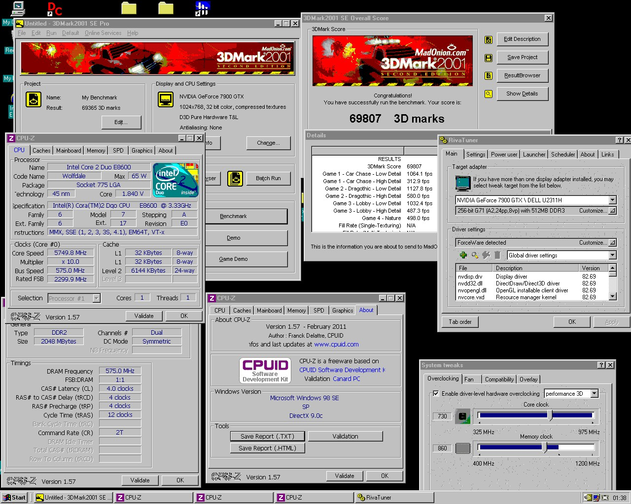 VOGONS • View topic - Fastest, and compatible Windows98se