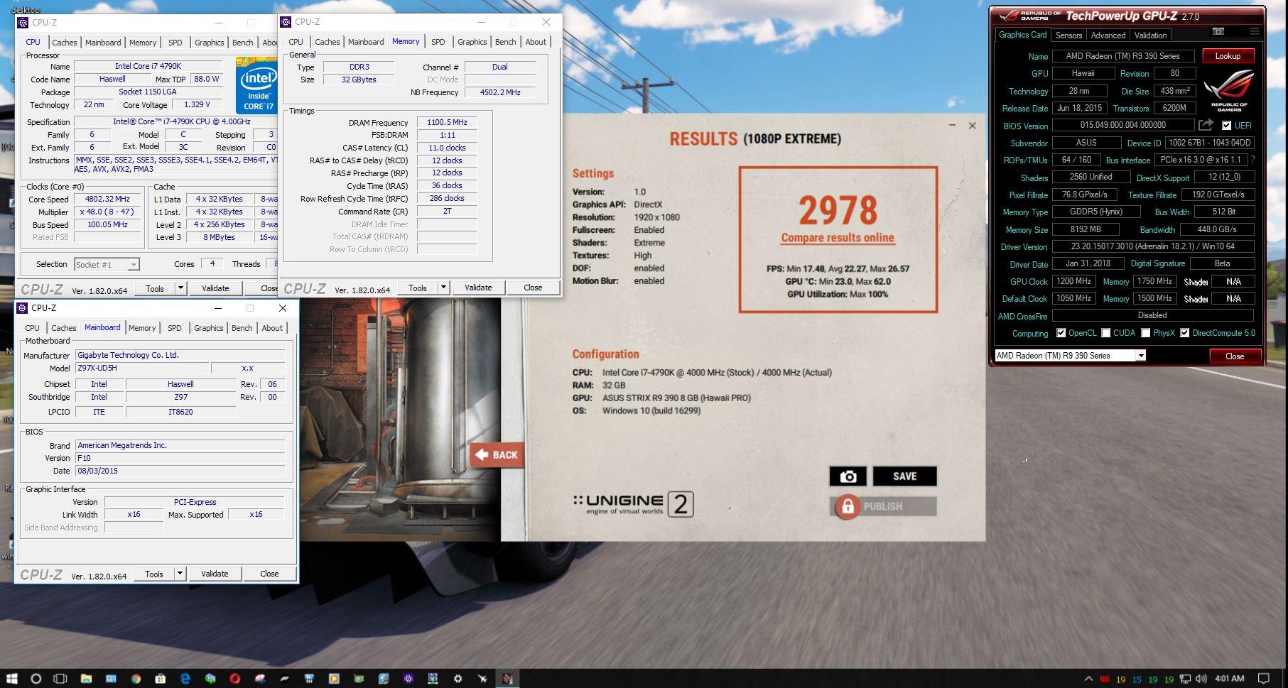 ZCustomComputers`s Unigine Superposition - 1080P Xtreme