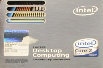 Intel Core 2 Duo E6600 @ HWBOT