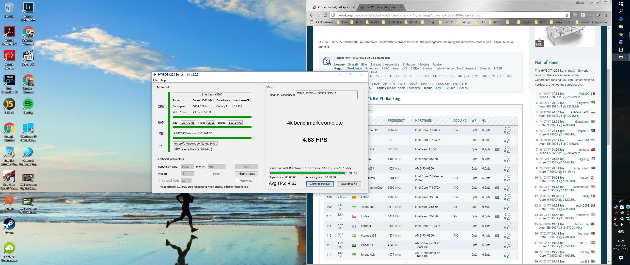 Xeon X5660 Benchmark