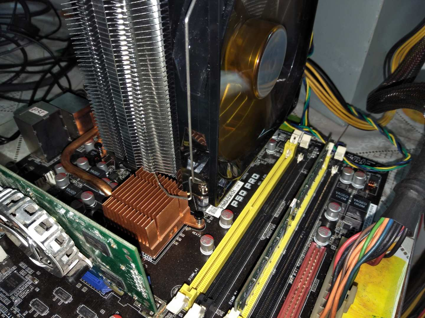 Overclocking Northwood On Lga775 Motherboard By 478 To 775 Cpu Mainboard Lga I945 Off Board P4 24c 200fsb M0 Asus P5q Pro Air Cooling