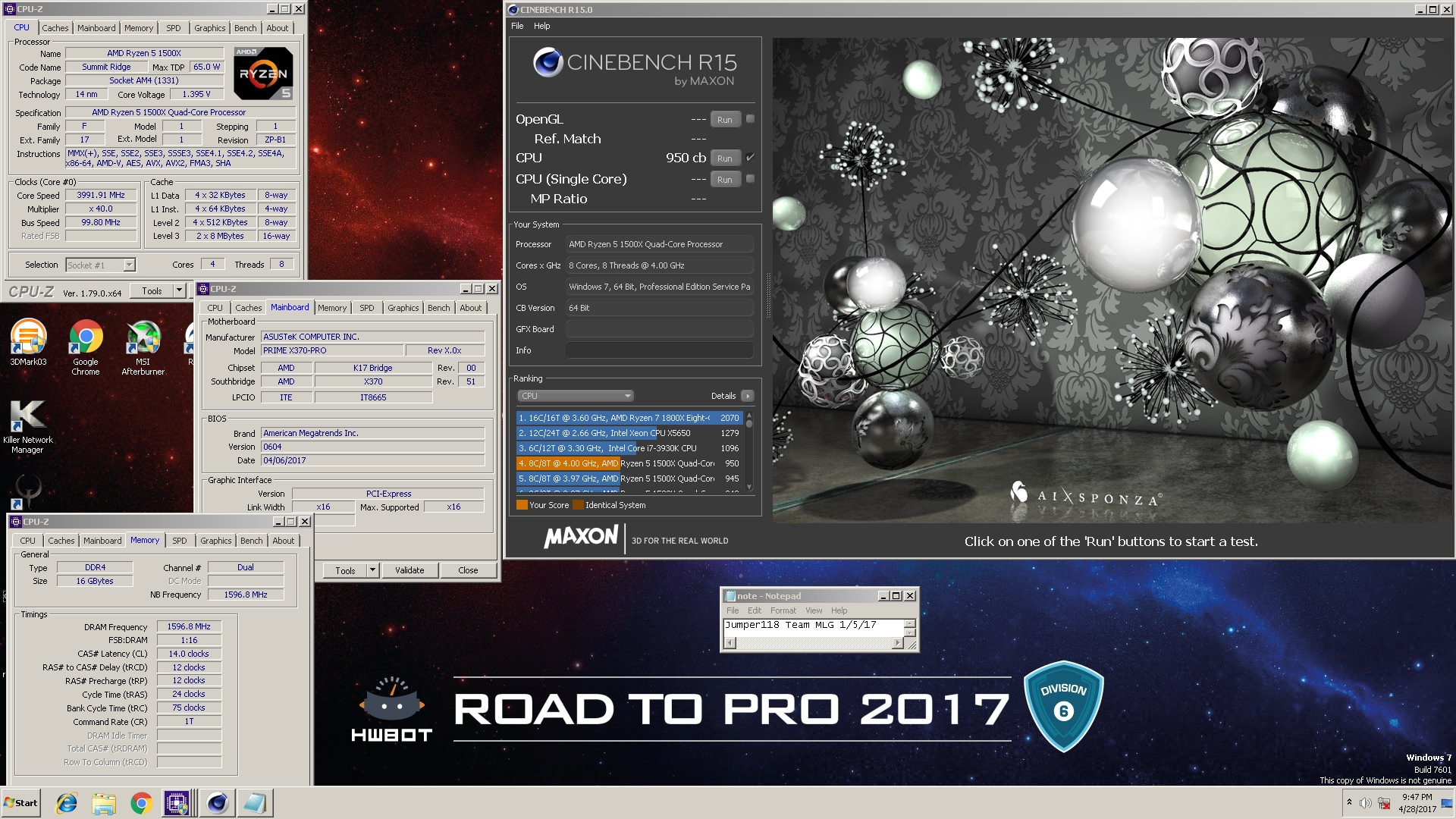 Amd Ryzen 5 1500x Cpus Motherboards And Memory Linus Tech Tips R5 1833814
