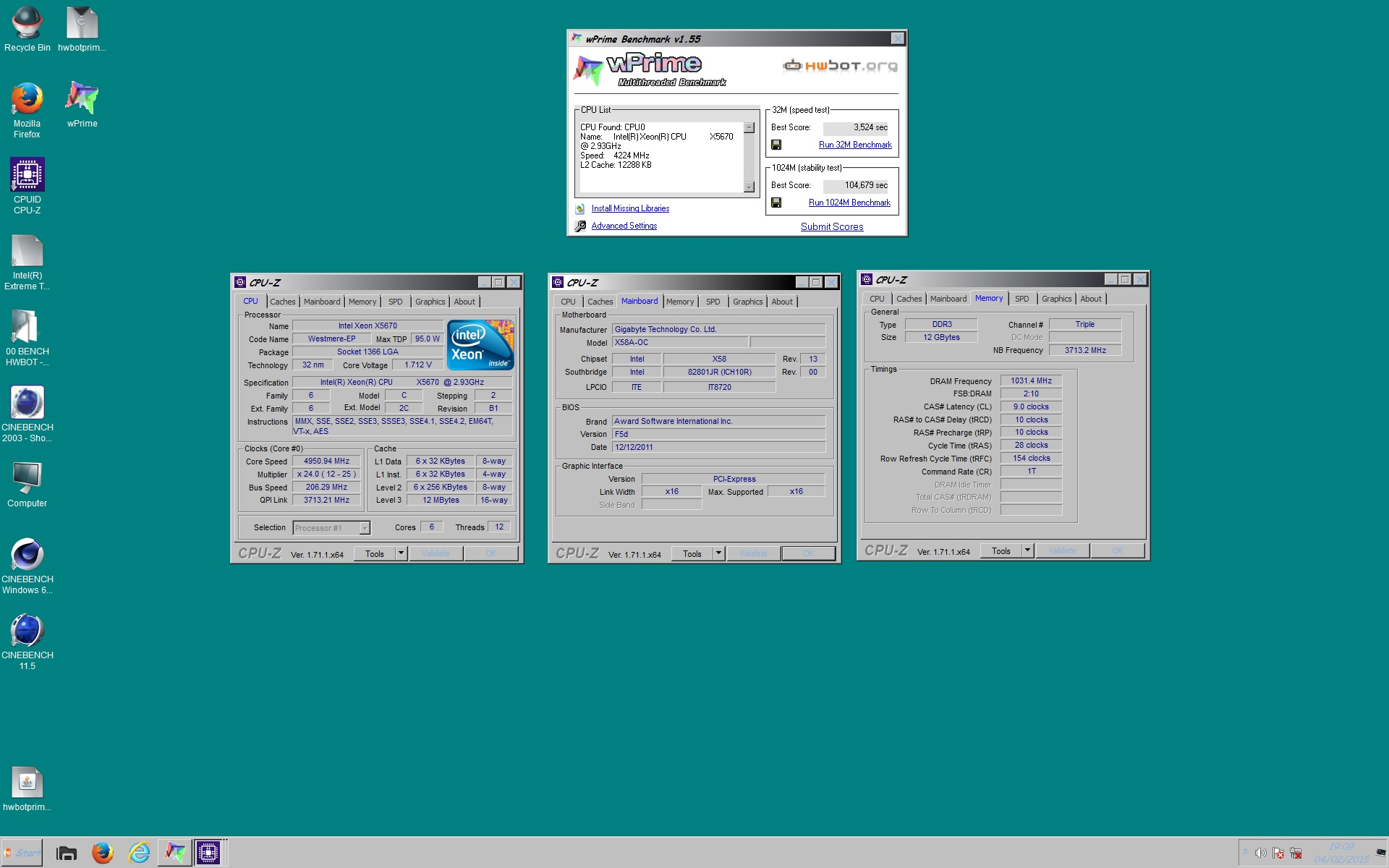 Testing] Xeon x5650 x5660 x5670 x5675 x5680 - x58 Socket