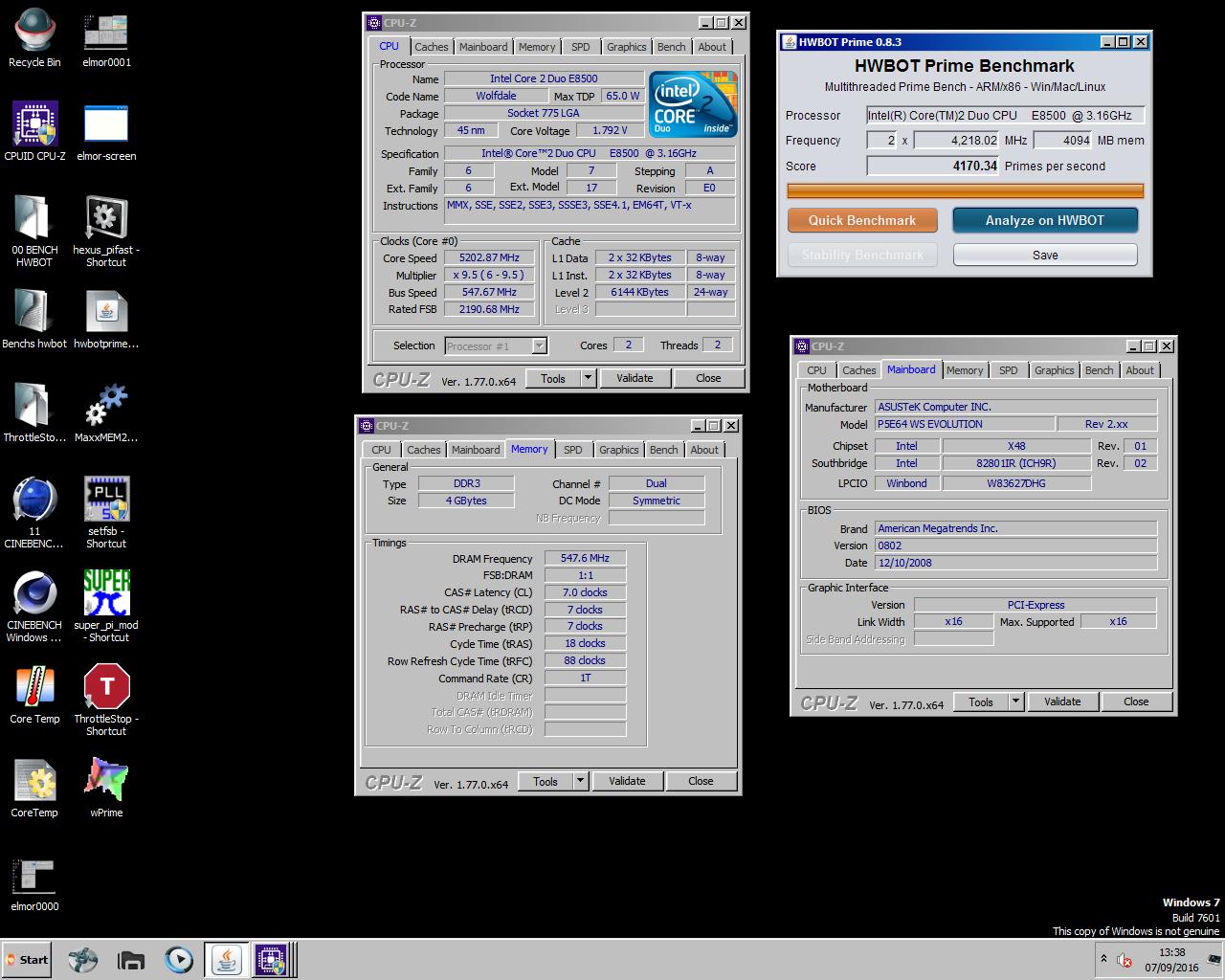 [Consulta] Me abre cargado el intel core 2 duo e 8400 a 3.ghz (le he quitado el IHS)