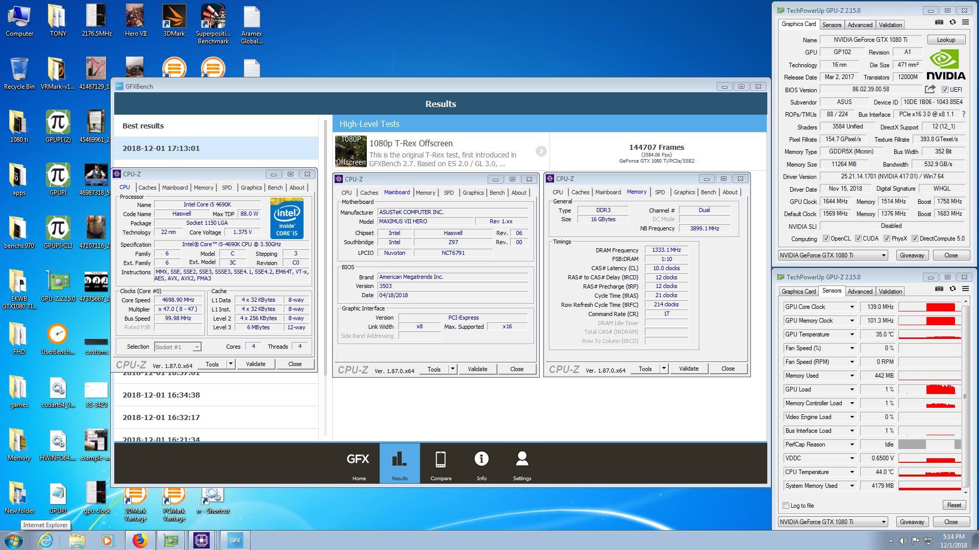 randyenergy`s GFXBench - 1080p T-Rex Offscreen score: 144707
