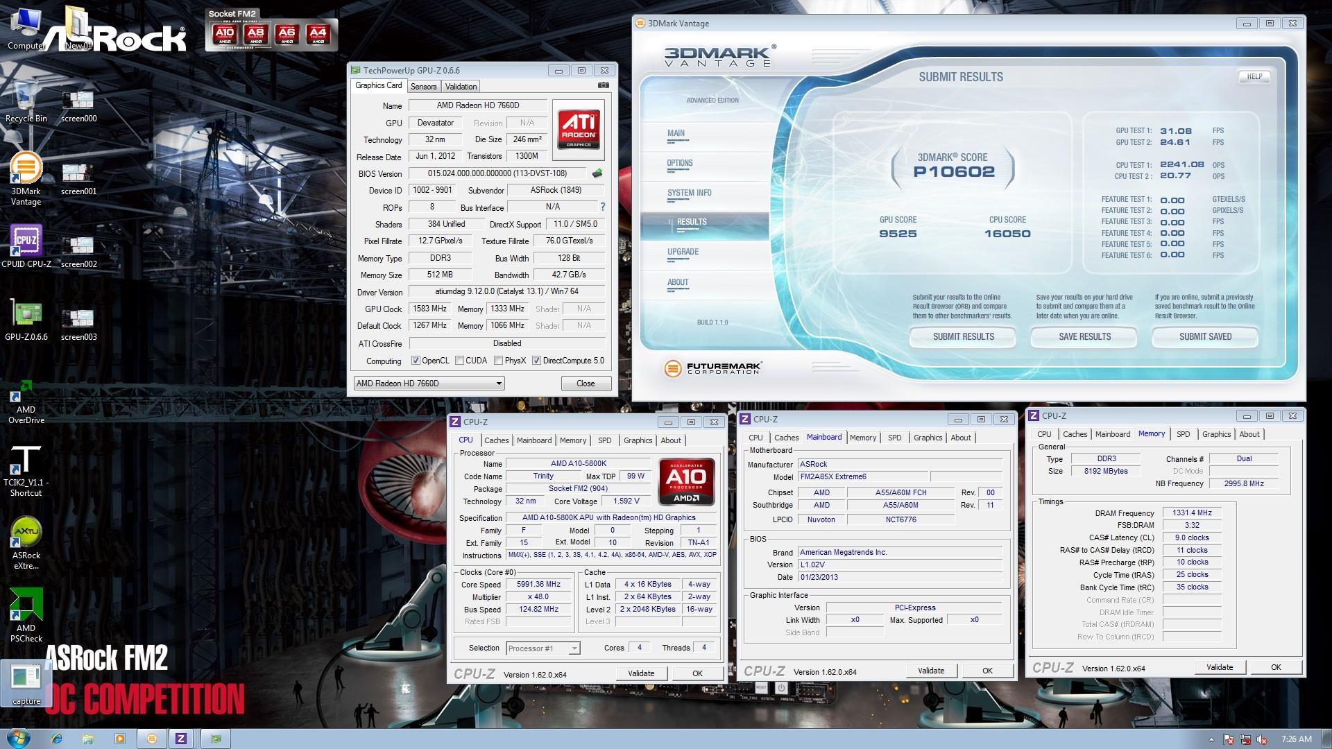 amd overdrive system performance score